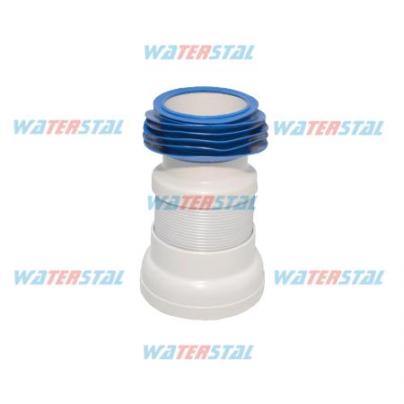 Opancerzony odpływowy odpływ toaletowy, długość 330 mm