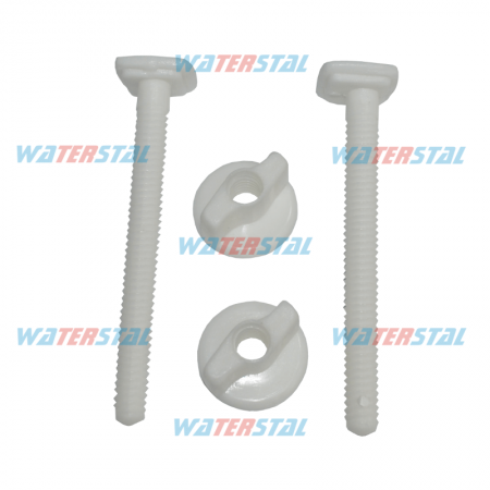 Toilet seat cover bolt